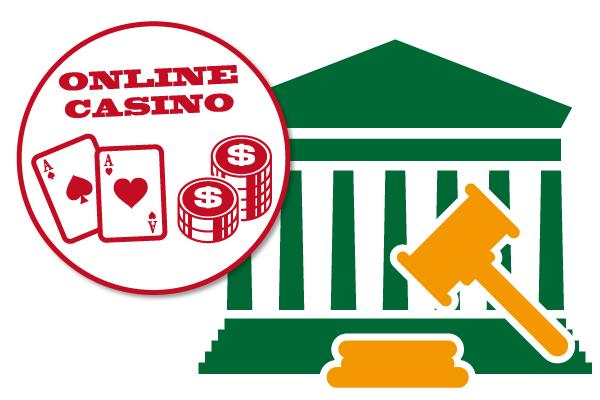 オンラインカジノは法律的に大丈夫?