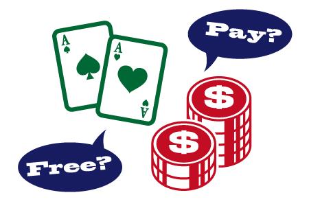オンラインカジノの遊び方は無料プレーと有料プレーがある