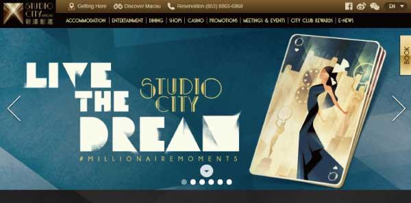 マカオのカジノホテル┃スタジオシティホテルの詳細情報