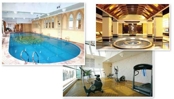リオ&ホテルはレクリエーション施設が豊富