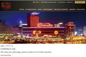 「サンズマカオ ホテル」は巨大カジノ施設と華やかなショーが自慢!