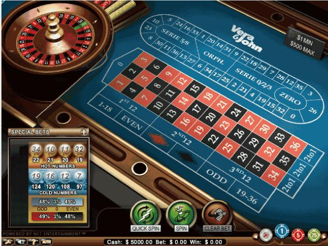 オンラインカジノ┃ルーレットのフリーゲームを遊ぼう