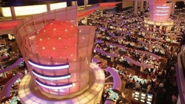 サンズマカオホテル:カジノブース写真